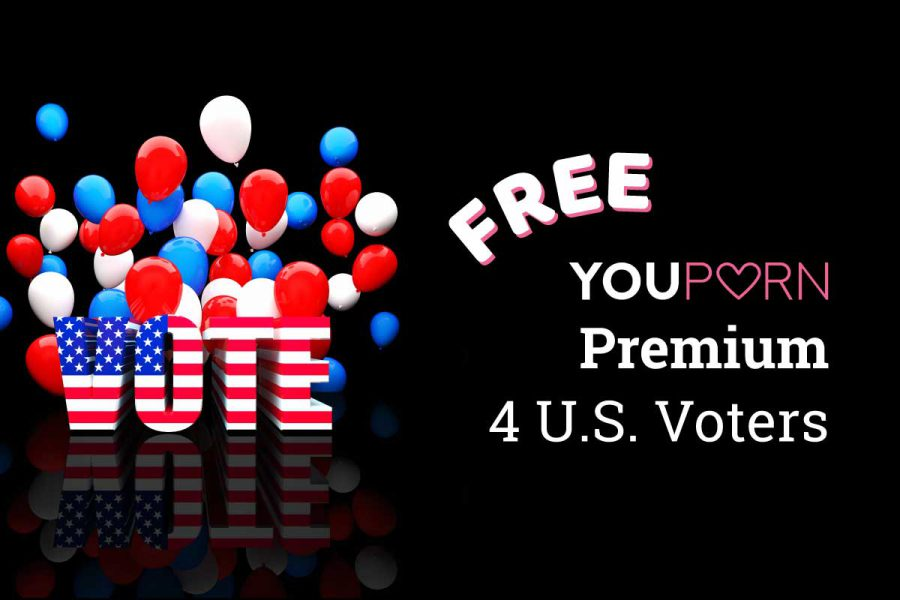 Free YouPorn Premium for U.S. Voters